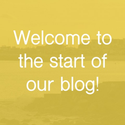 Welcome to the start of our blog