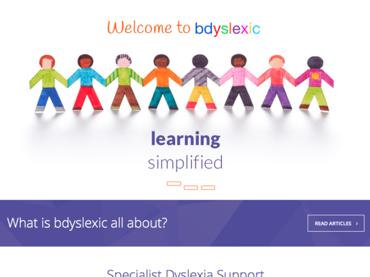 Upgraded WordPress Website for bdyslexic